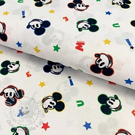 Bavlněná látka Mickey mouse original digital print