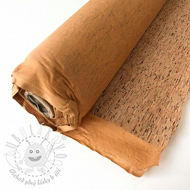 Cork wood brown