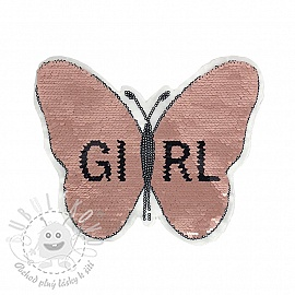 Flitry oboustranné Butterfly girl