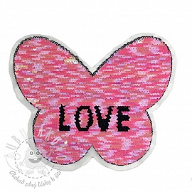 Flitry oboustranné Butterfly love