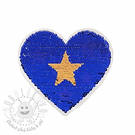 Flitry oboustranné Little hearts stars