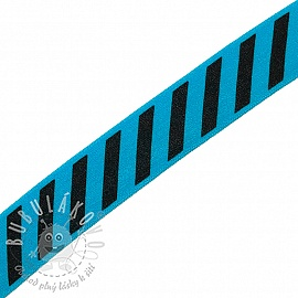 Lemovací guma STRIPE 20 mm aqua