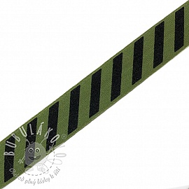 Lemovací guma STRIPE 20 mm army