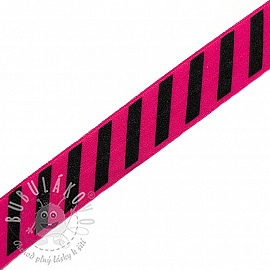 Lemovací guma STRIPE 20 mm fuchsia