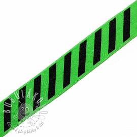 Lemovací guma STRIPE 20 mm green