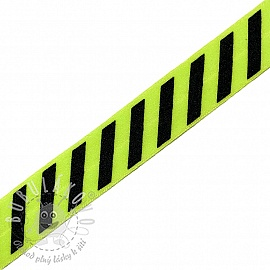 Lemovací guma STRIPE 20 mm lime