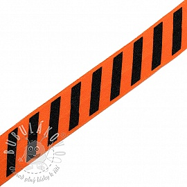 Lemovací guma STRIPE 20 mm orange