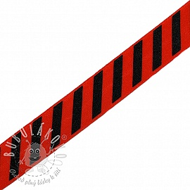 Lemovací guma STRIPE 20 mm red