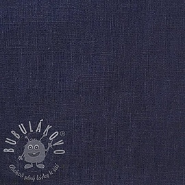 Linen enzyme washed navy
