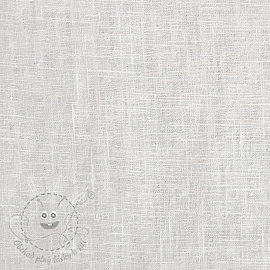 Linen enzyme washed white