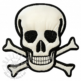 Sticker BASIC Skull 3