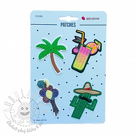 Sticker BIPP Cocktail Palmtree