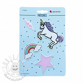Sticker BIPP Unicorn Lightning