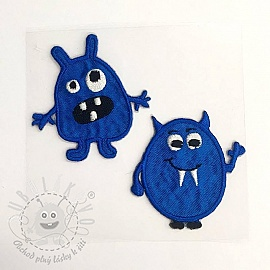 Sticker MIDI Monsters blue