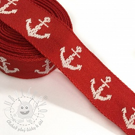 Stuha Anchor red/white