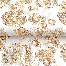 Úplet Golden garden digital print