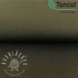 Úplet TENCEL modal dark green