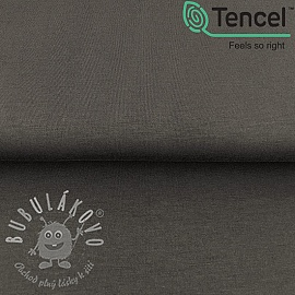 Úplet TENCEL modal dark grey