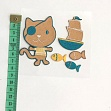 Sticker BASIC Pirat Cat
